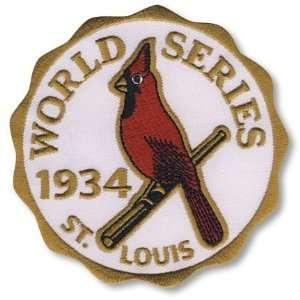 1934 St. Louis Cardinals World Series Patch Sports