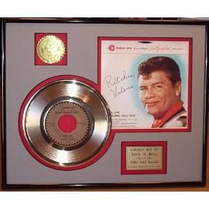 RITCHIE VALENS GOLD RECORD LIMITED EDITION DISPLAY