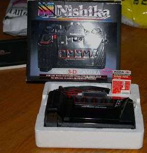 Nishika N8000 35mm Film 3D Camera 45105068005