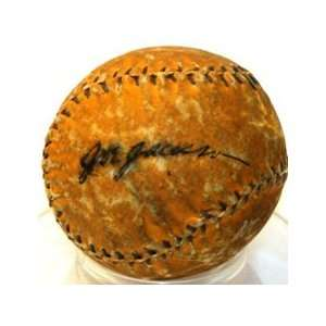 Shoeless Joe Jackson Autographed Baseball    Mini Sports