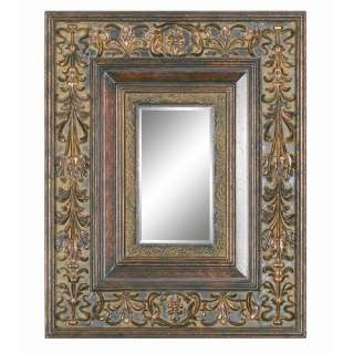 Imagination Mirrors Delicate Details Wall Mirror in Gold Patina Decor