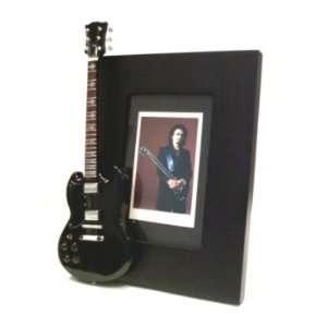 TONY IOMMI Miniature Guitar Photo Frame Musical