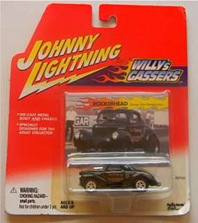 This is a 2001 Johnny Lightning WILLY GASSERS, ROCKERHEAD Don