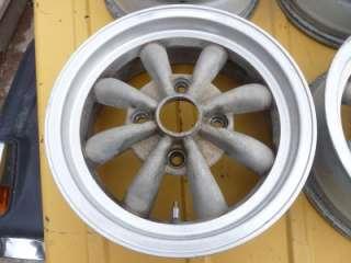 Spoke Wheels 15 Set of 4 Volkswagen Super Beetle Karmann Ghia Vintage