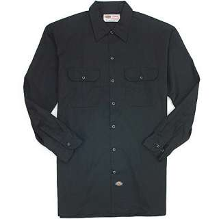 Dickies Men?s Long Sleeve Work Shirt