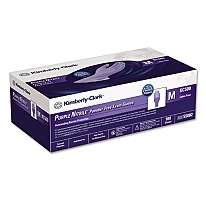 Kimberly Clark Nitrile Medical Exam Gloves   Medium   Purple 100ct