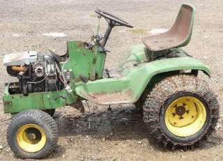 1972 John Deere 140 H3 w/Kohler K321AS 14hp Engine