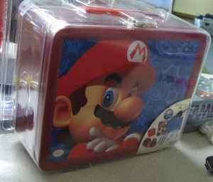 Nintendo DS Lite Starter Kit Lunchbox Tin  Mario NIB