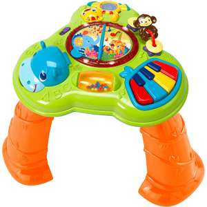 Bright Starts Safari Sounds Musical Learning Table Gear