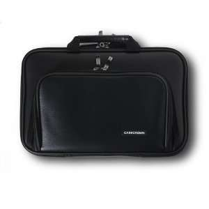 CaseCrown Double Memory Foam Case with Front Pocket (Black
