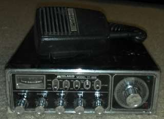 Vintage 1970s Midland 40 Ch Channel CB Citizens Band Radio Model 77