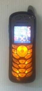 Motorola BOOST MOBILE i415 BLACK / GRAY RUGGED PHONE USED (T1)