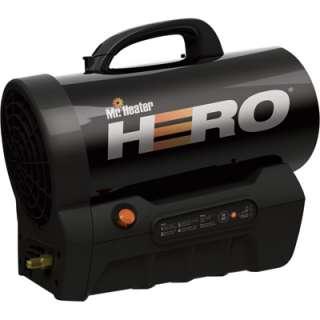Mr. Heater Hero Cordless Forced Air Propane Heater  35,000 BTU Model