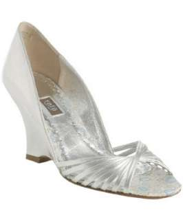 Rafe New York silver leather Lindsay wedge sandals   up to