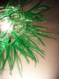 Modern Light Pendant Swag Art Lamp Space Age Sputnik
