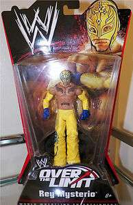 WWE Over the Limit Rey Mysterio Wrestling Action Figure Mattel