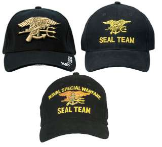 US Navy Seal Team Ball Cap USN Special Forces Hat