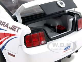 18 scale diecast model of 2009 ford mustang cobra jet cj with livery