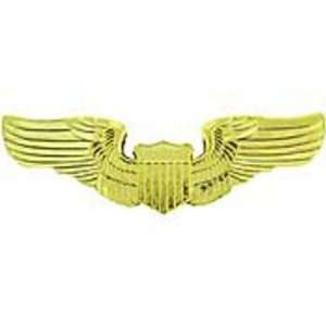 Air Force Pilot Wings Pin Gold Plated 3 Arts, Crafts & Sewing