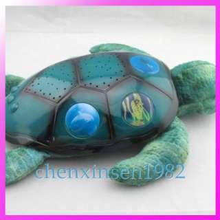 Star Sky Night twilight Sea turtle projector Night light Baby toy
