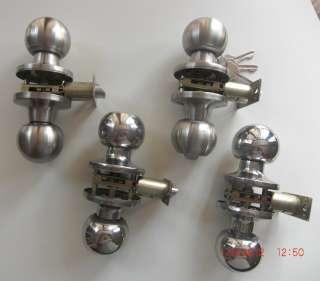 STAINLESS STEEL DOOR LOCK KNOB SET PRIVACY PASSAGE BATHROOM BEDROOM