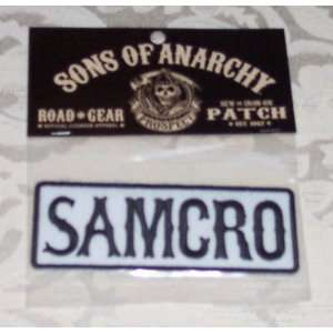 SONS OF ANARCHY SOA SAMCRO Embroidered PATCH: Everything