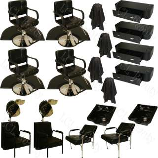 BARBER OR RECLINE SHAMPOO CHAIR HAIR BEAUTY SALON EQUIPMENT