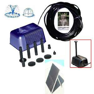 Solar Power Pond Water Pump 13.5 Solar Panel 5 Watt