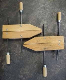 Vintage Craftsman Large Wood Screw Clamps